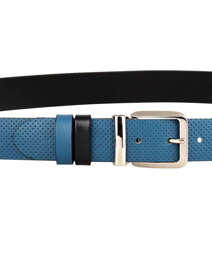 Blue-Golf-Belt-Italian-Buckle-On-trousers