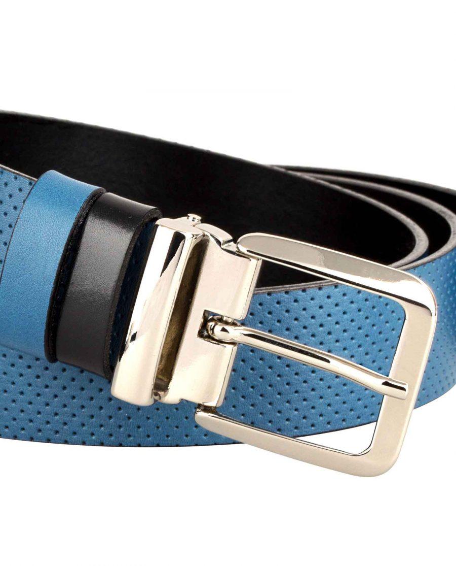 Blue-Golf-Belt-Italian-Buckle-Zoom-image