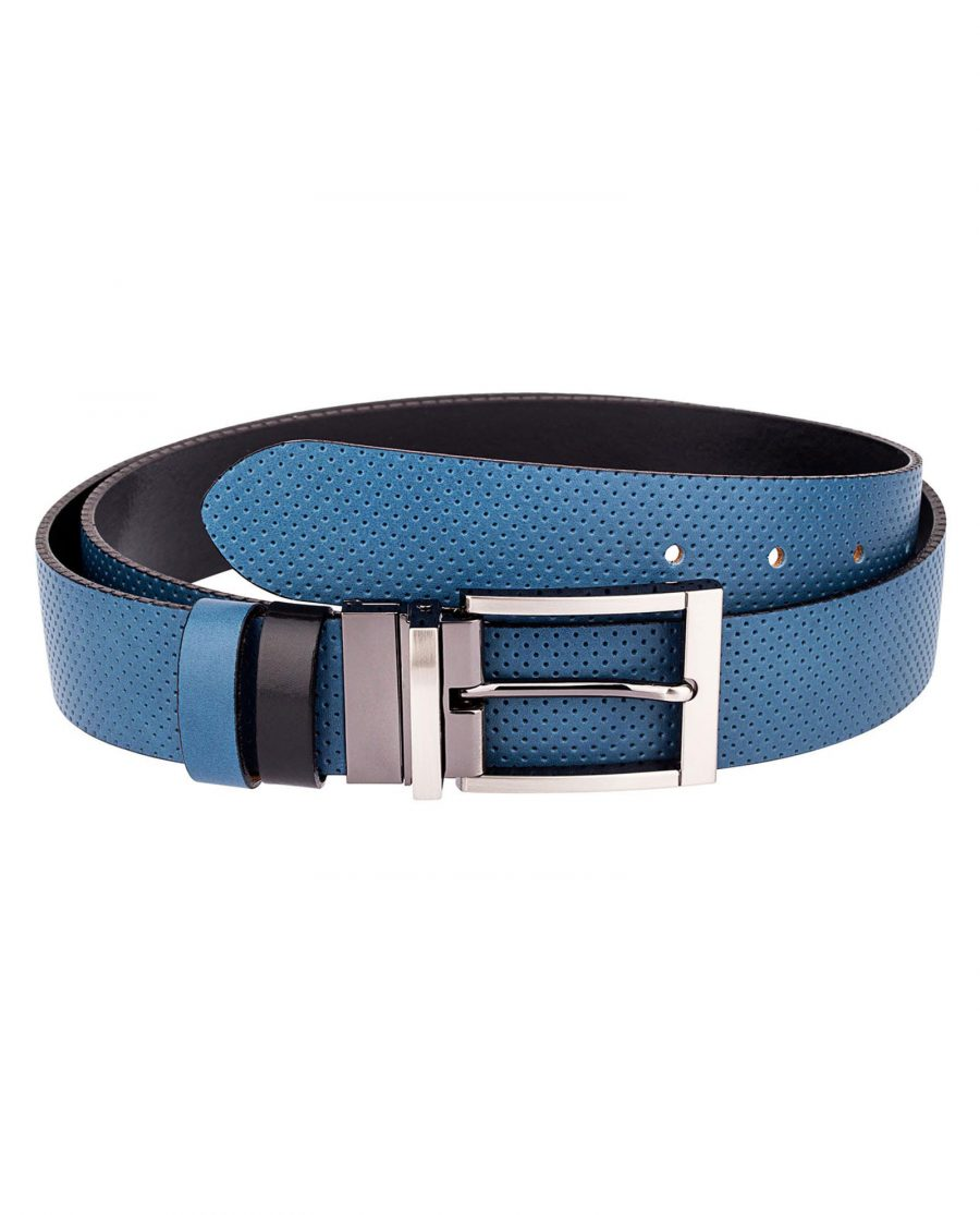Blue-Golf-Belt-Reversible-First-picture