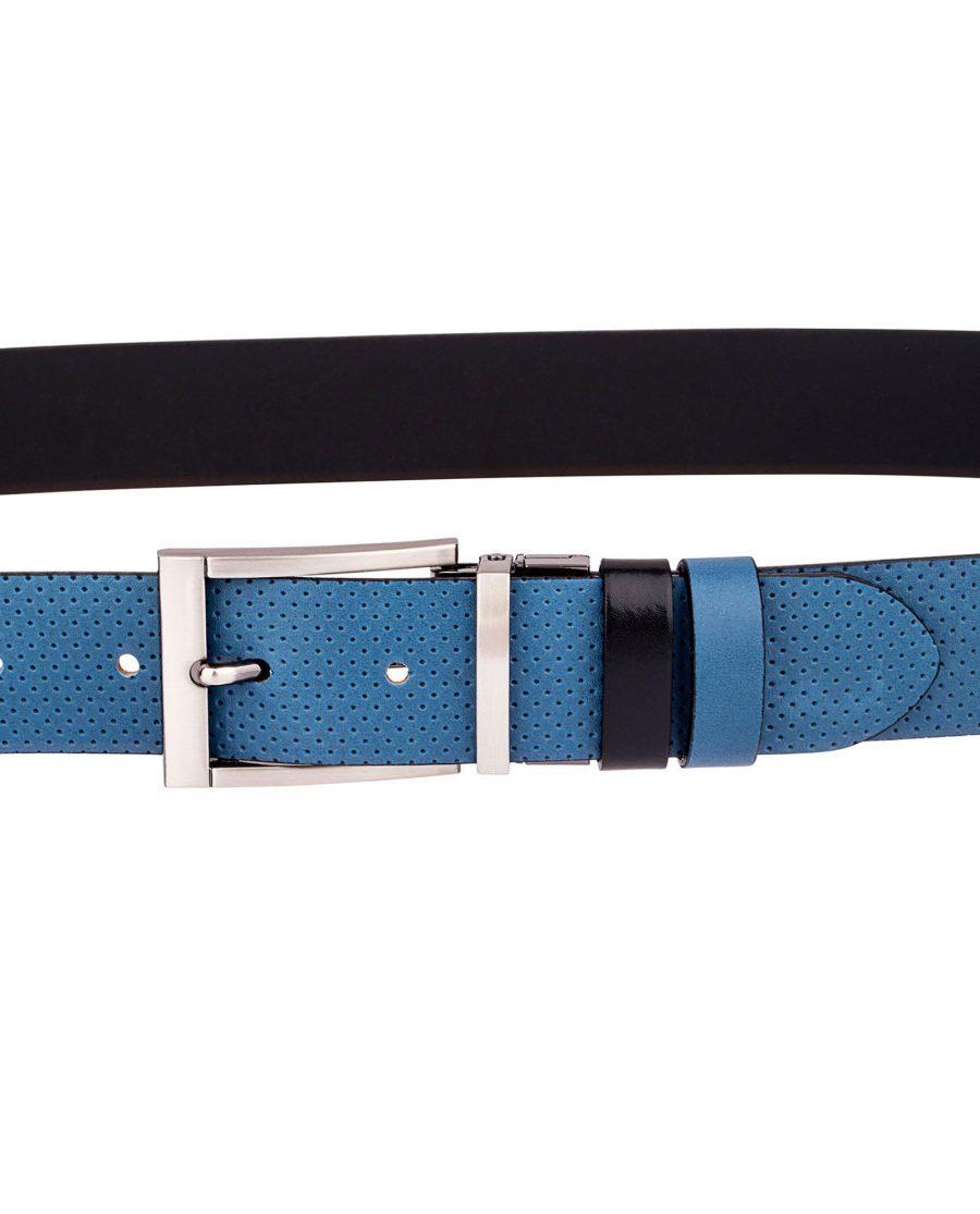 Blue-Golf-Belt-Reversible-On-trousers