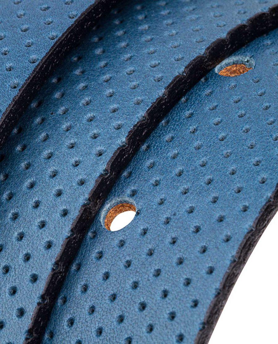 Blue-Golf-Belt-Reversible-Rolled-strap