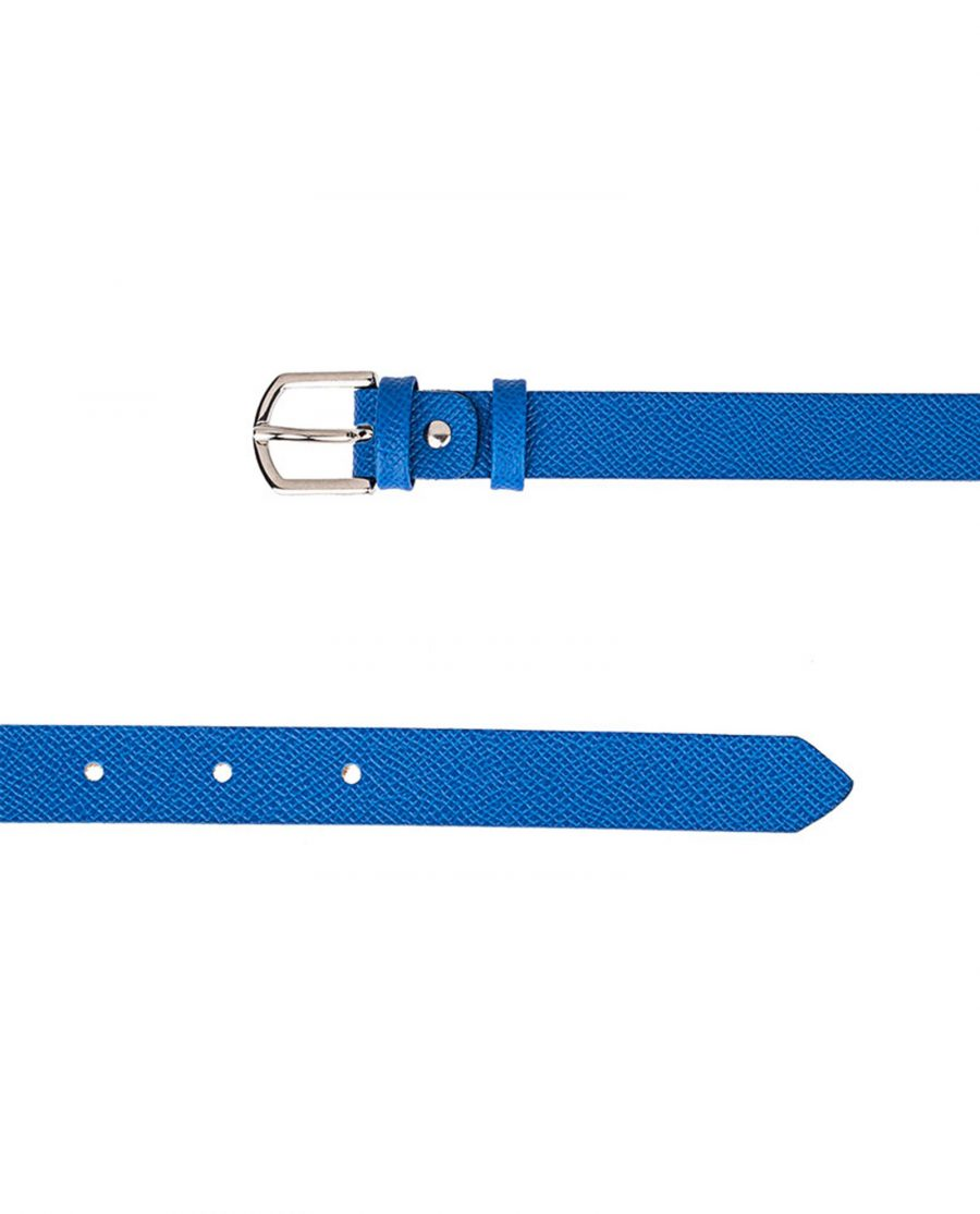 Blue-Saffiano-Skinny-Belt-Both-Sides