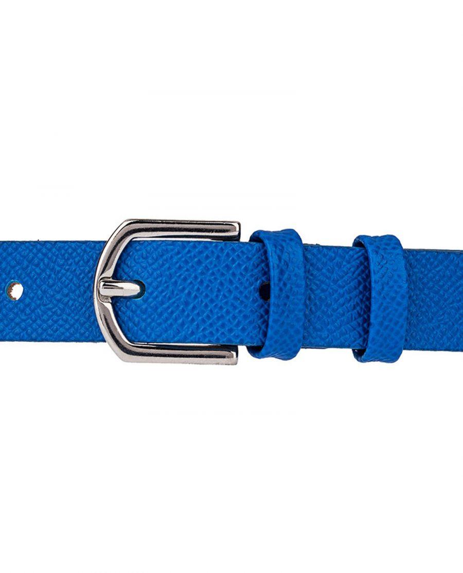 Blue-Saffiano-Skinny-Belt-Buckle