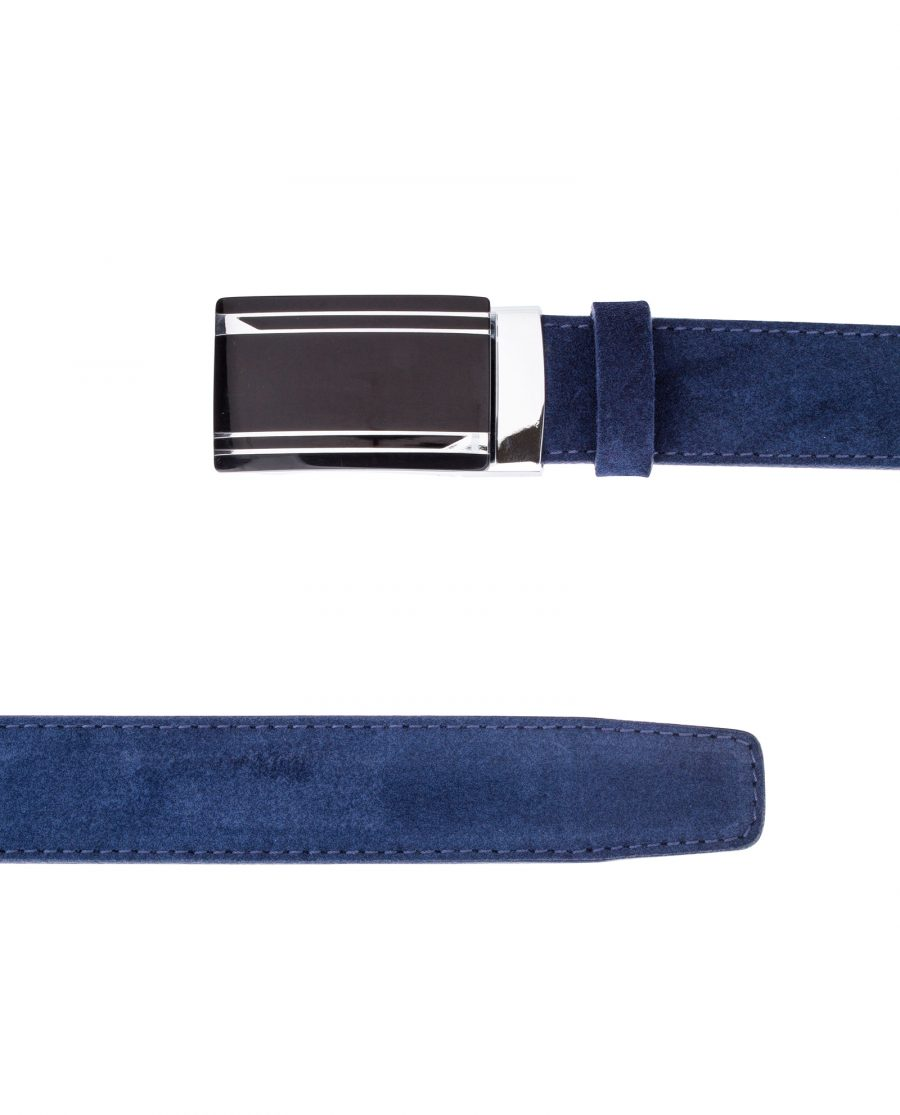 Blue-Suede-Automatic-Belt-From-the-top