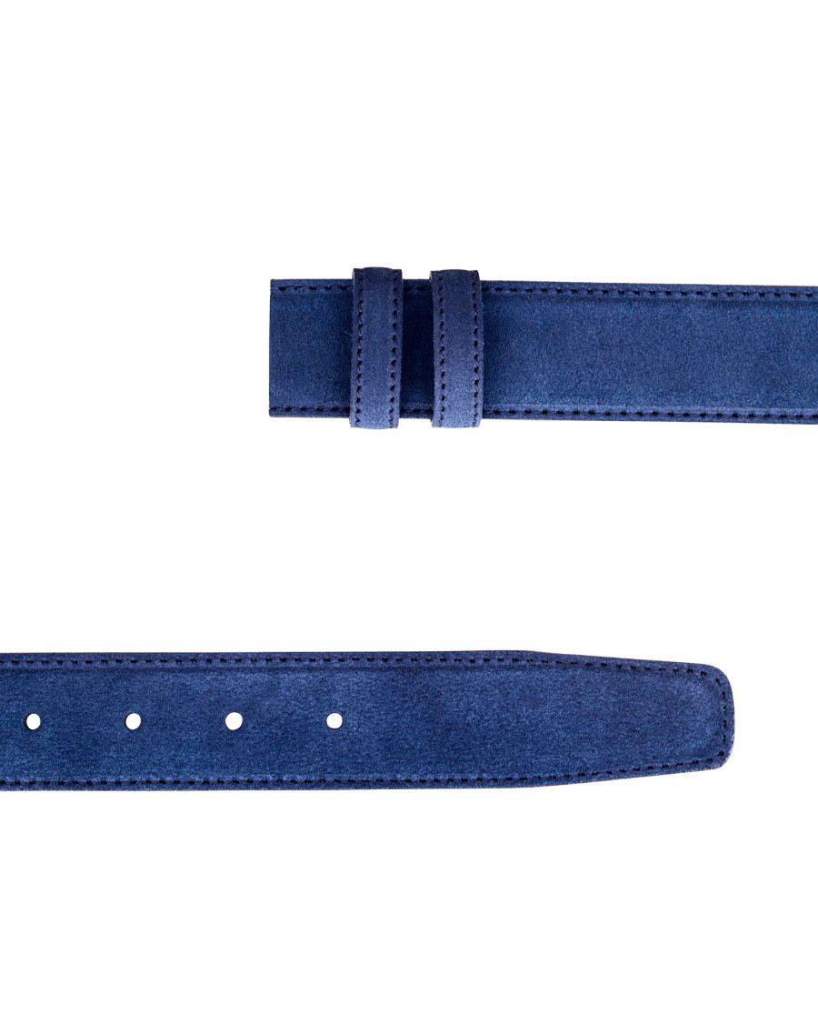Blue-Suede-Belt-Strap-Both-ends