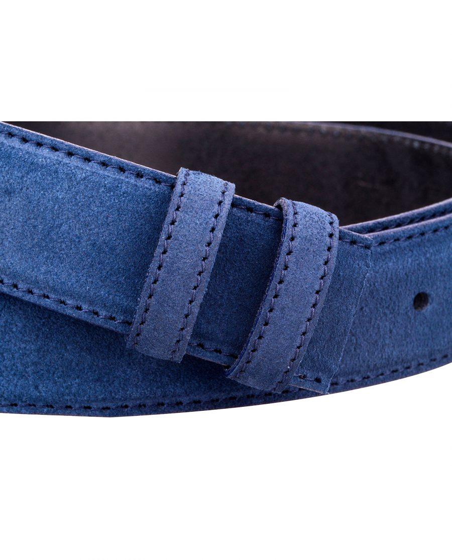 Blue-Suede-Belt-Strap-Buckle-attach