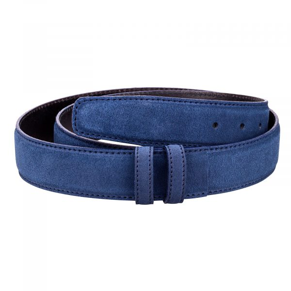 Blue-Suede-Belt-Strap-First-image