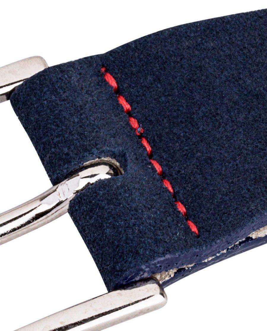 Blue-Suede-Small-Belt-Buckle-Close