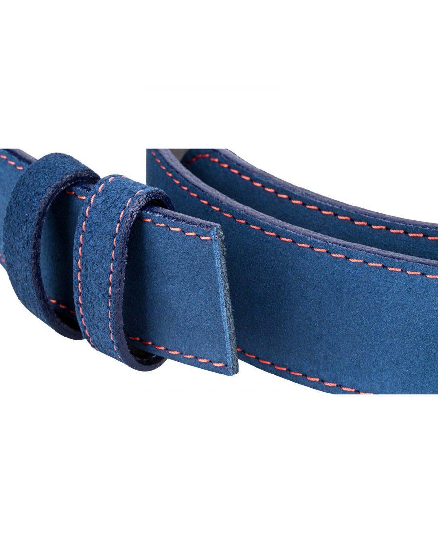 Blue-Suede-Strap-Red-Stitch-Buckle-mount