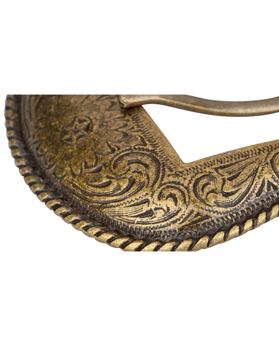 Bronze-Belt-Buckle-Cowboy-set-Close-image