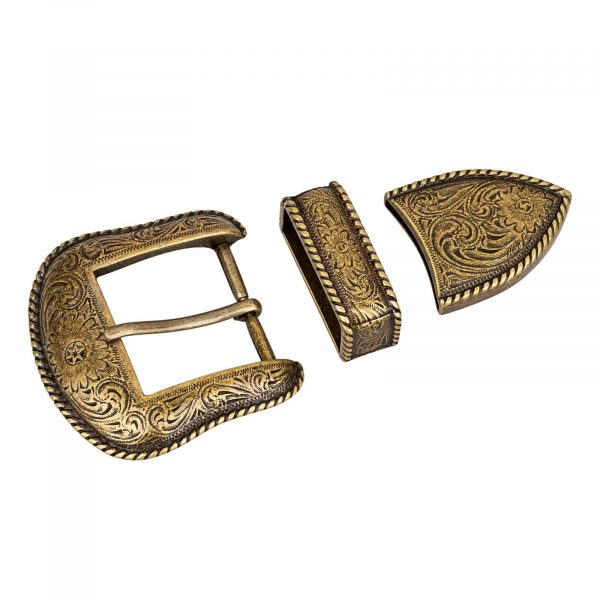 Bronze-Belt-Buckle-Cowboy-set-First-image