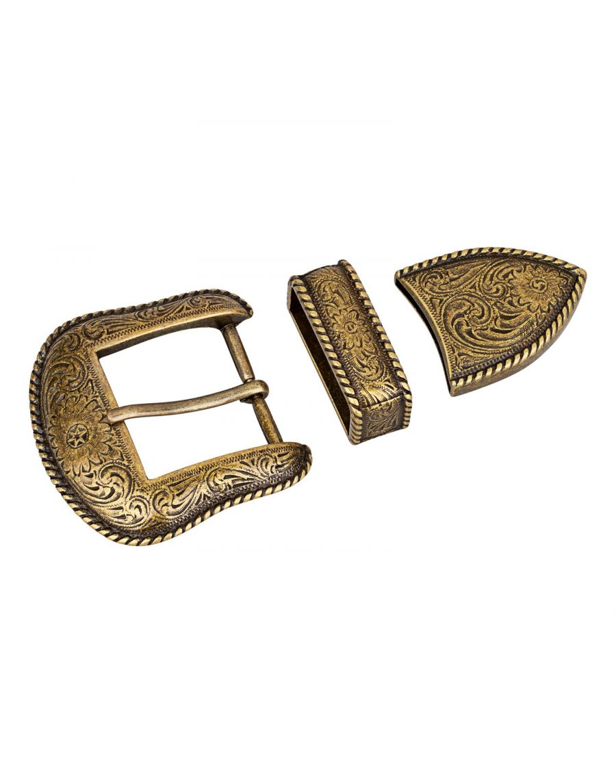 Bronze-Belt-Buckle-Cowboy-set-First-image