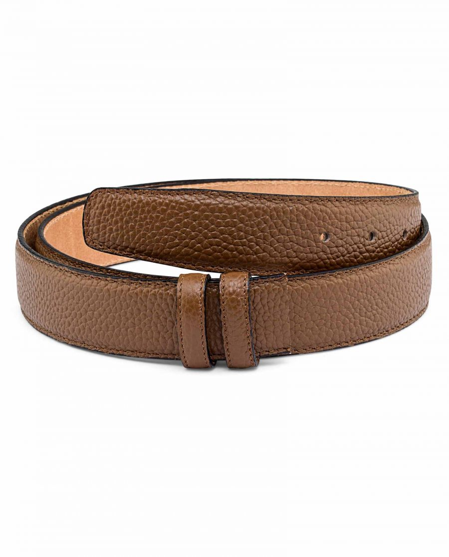 Brown-Cow-Leather-Belt-Strap-First-picture