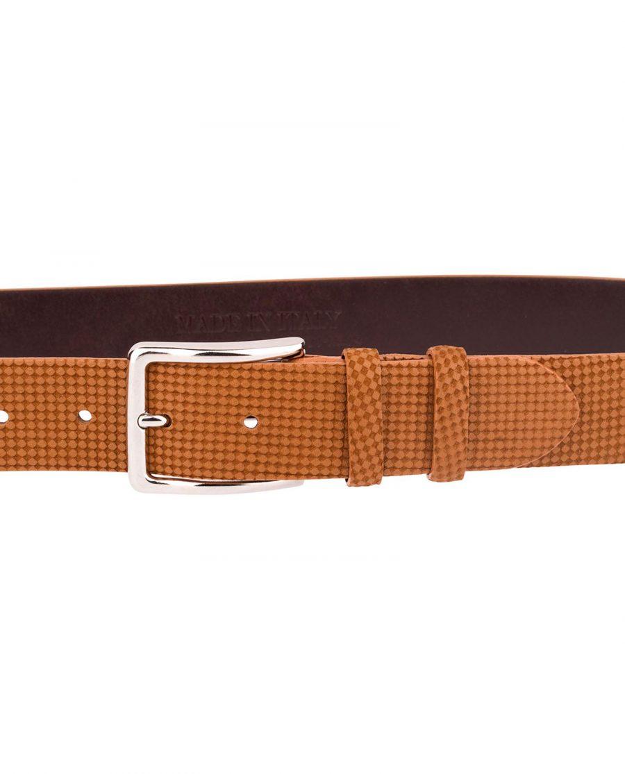 Brown-Leather-Belt-Laser-Nubuck-On-pants