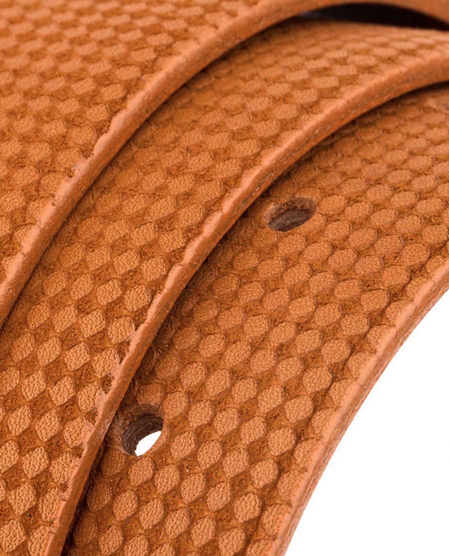Brown-Leather-Belt-Laser-Nubuck-Rolled-strap