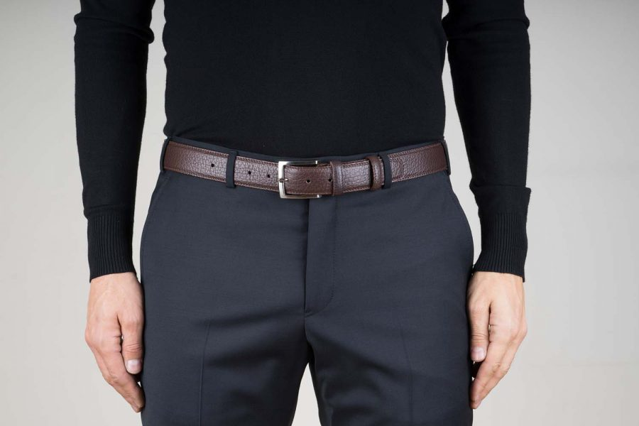 Brown-Leather-Belt-Stitched-Live-on-Pants