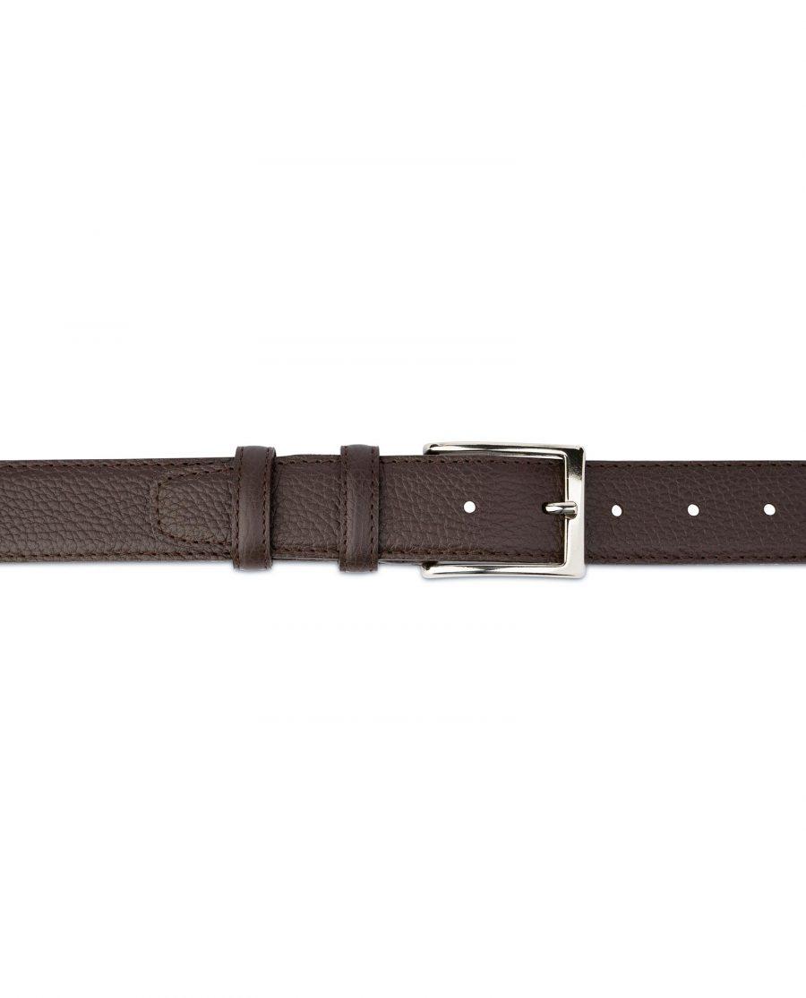 Brown Leather Belt for Men 3