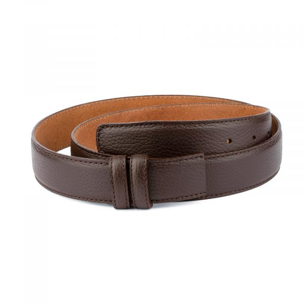 Brown Leather Strap For Mens Belts 1