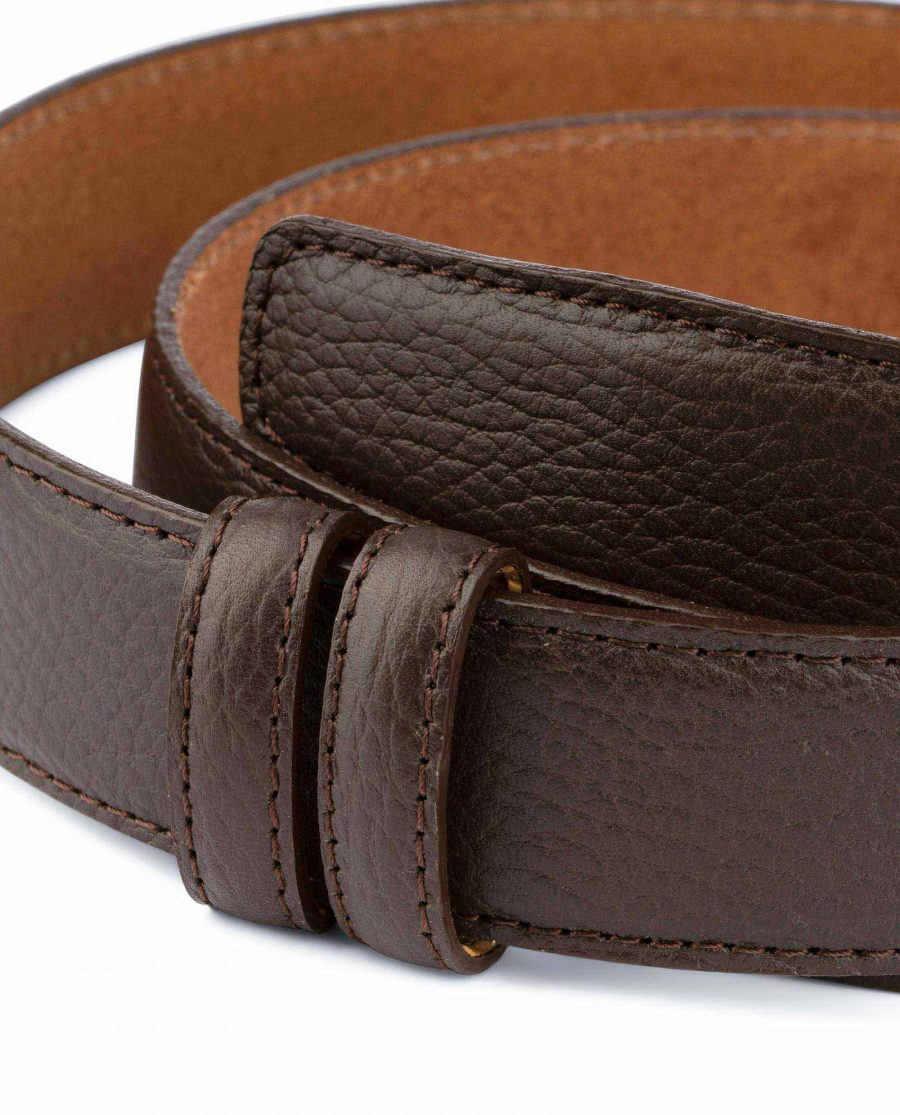 Brown Leather Strap For Mens Belts 2