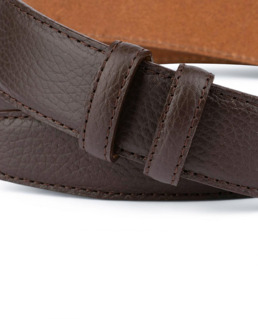 Brown Leather Strap For Mens Belts 3