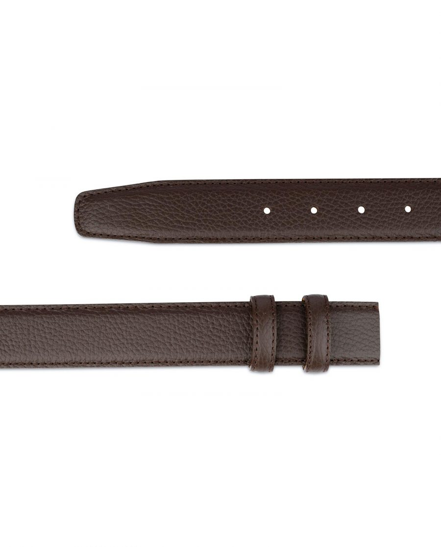 Brown Leather Strap For Mens Belts 4
