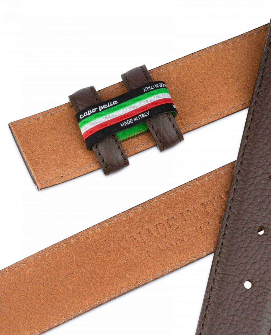 Brown Leather Strap For Mens Belts 5