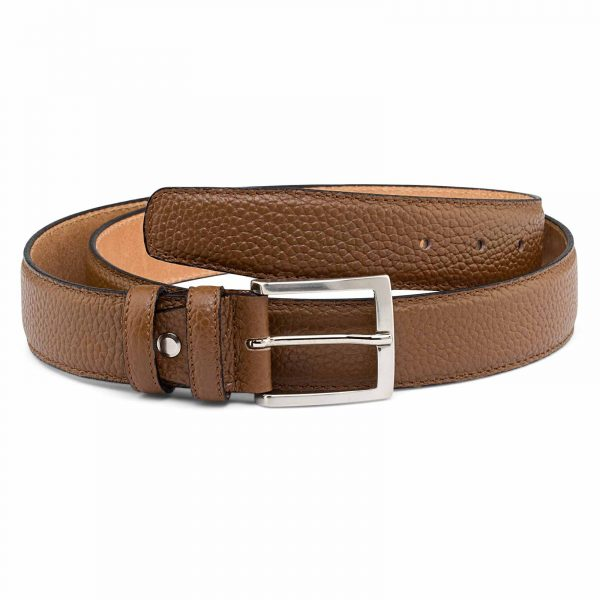 Brown-Mens-Dress-Belt-First-picture