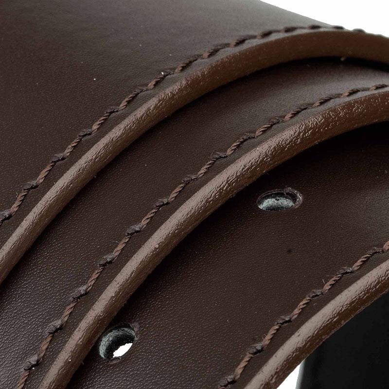 Brown-nappa-belt-strap-wide-rolled