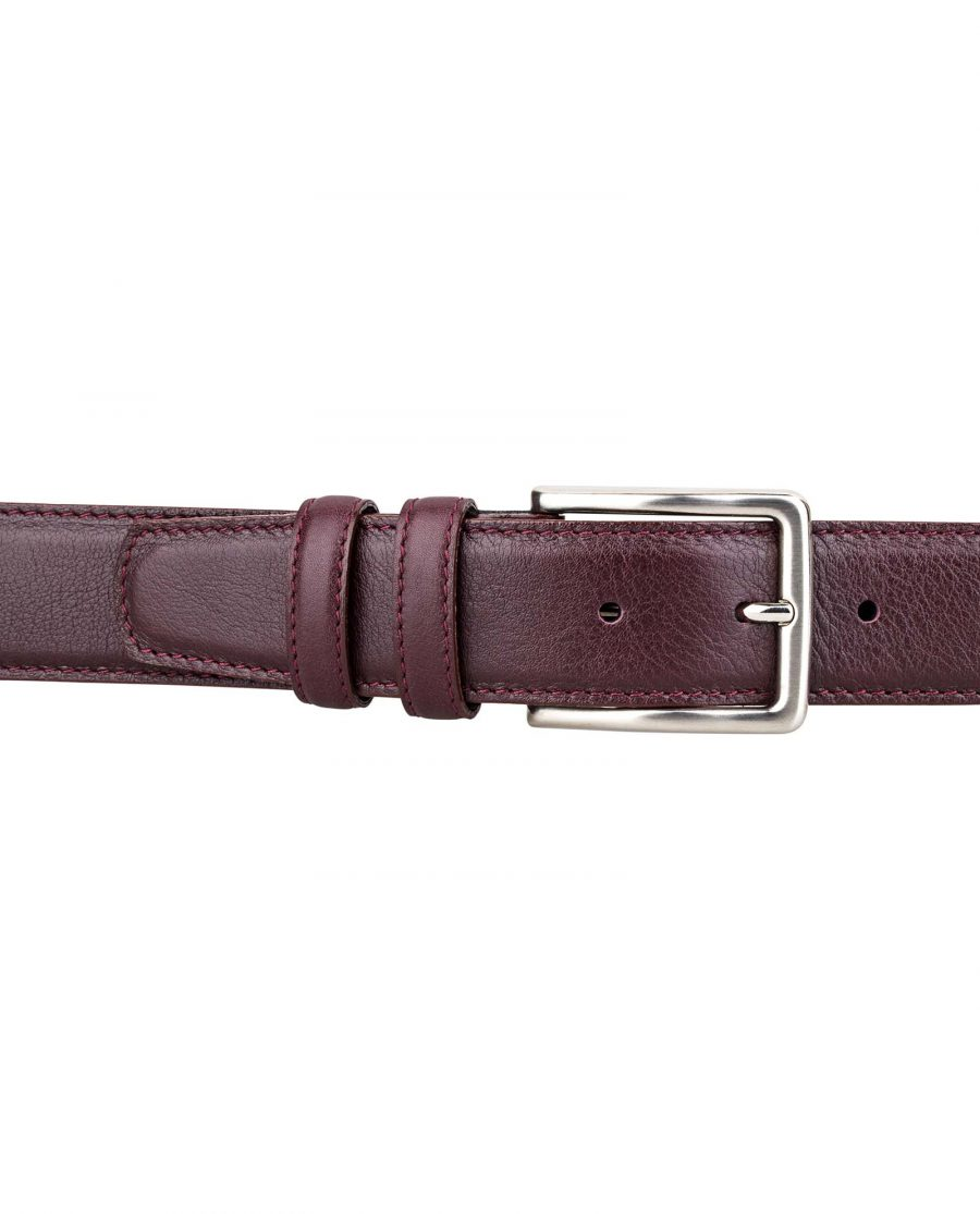Burgundy-Belt-First-image-Look-on-pants