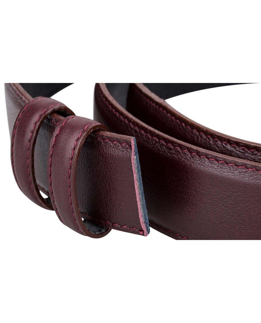 Burgundy-Belt-Strap-Buckle-attachment