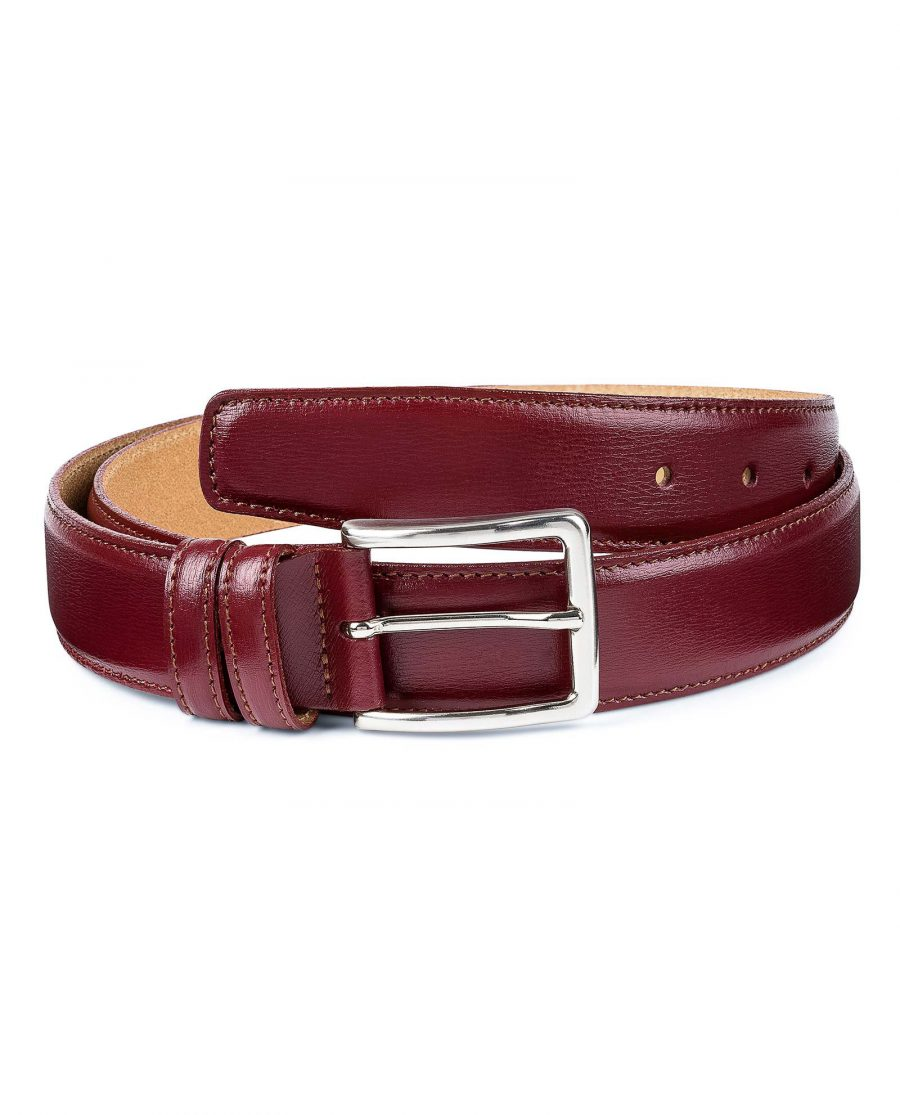 Burgundy-Leather-Belt-by-Capo-Pelle-First-picture
