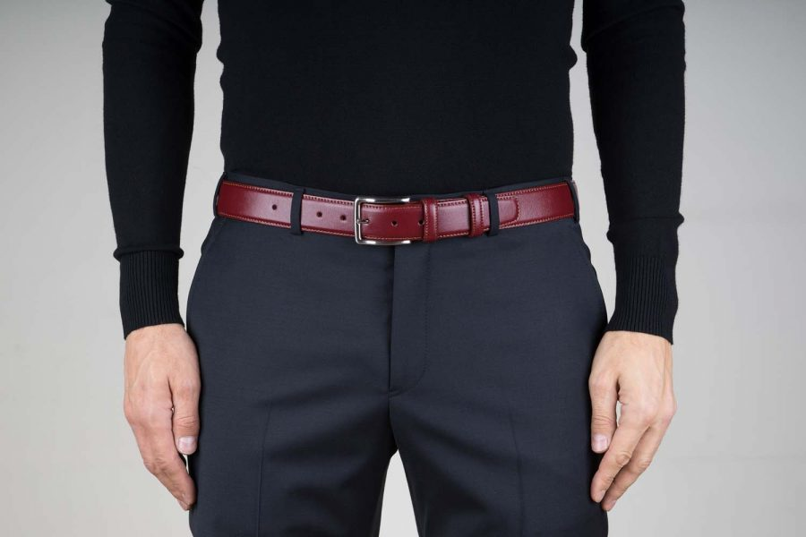 Burgundy-Leather-Belt-by-Capo-Pelle-Live-on-Pants