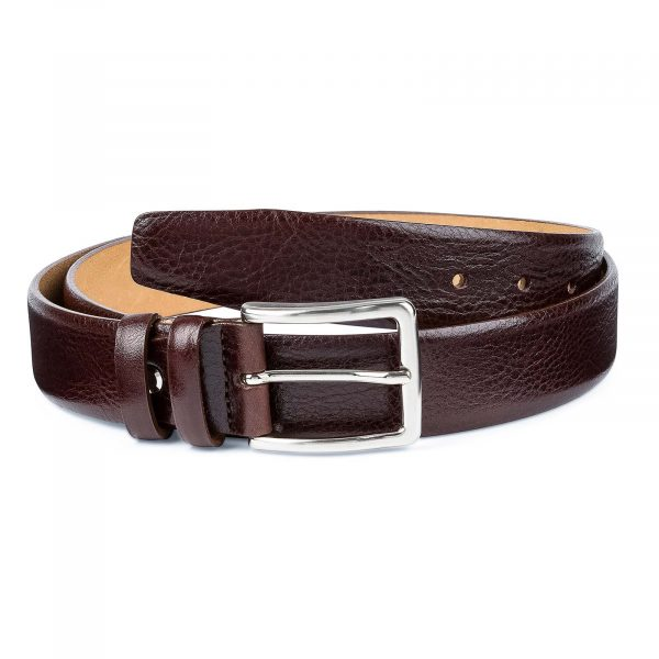 Capo-Pelle-Cognac-Brown-Leather-Belt-First-image