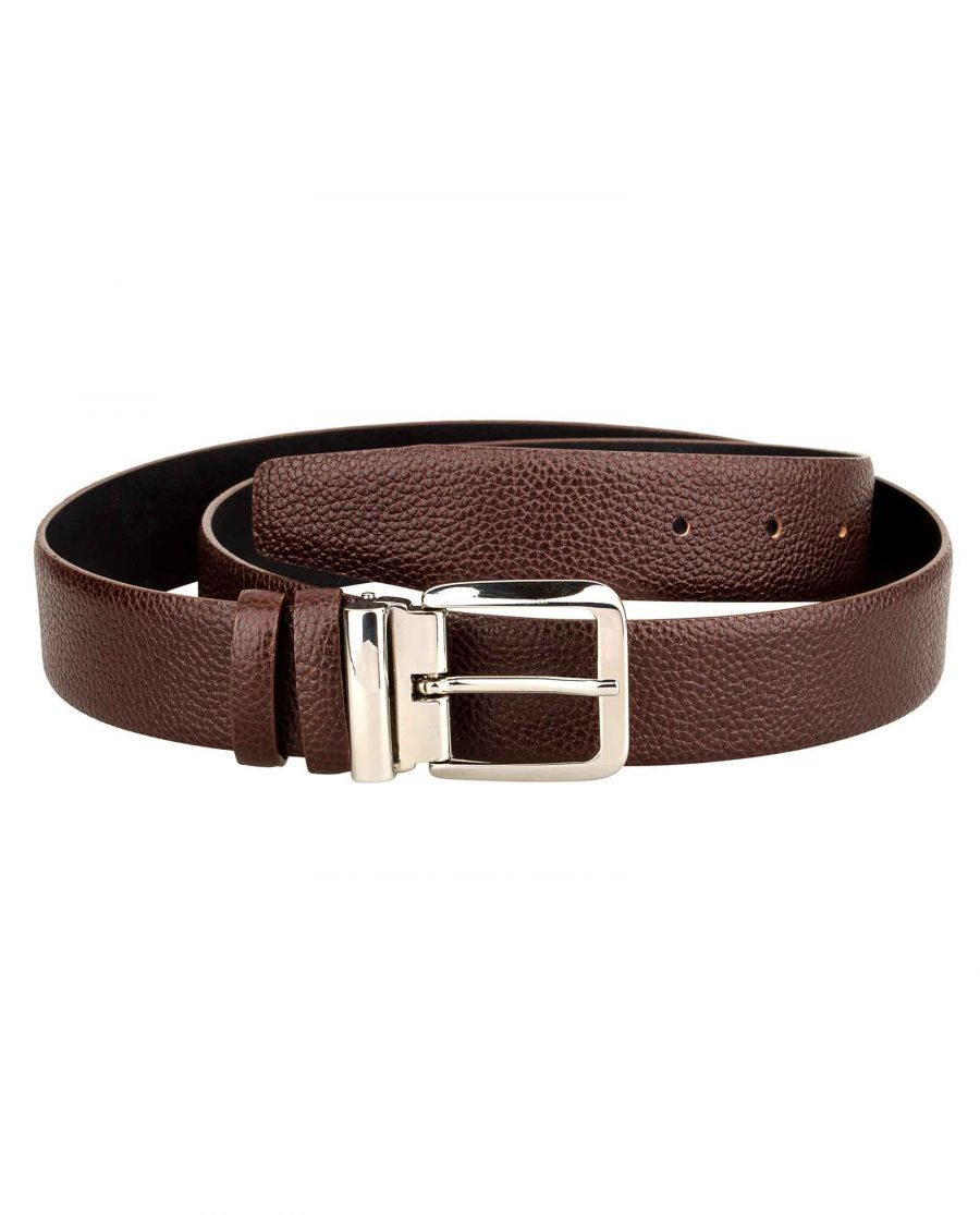 Casual-Mens-Belt-Italian-Buckle-First-image