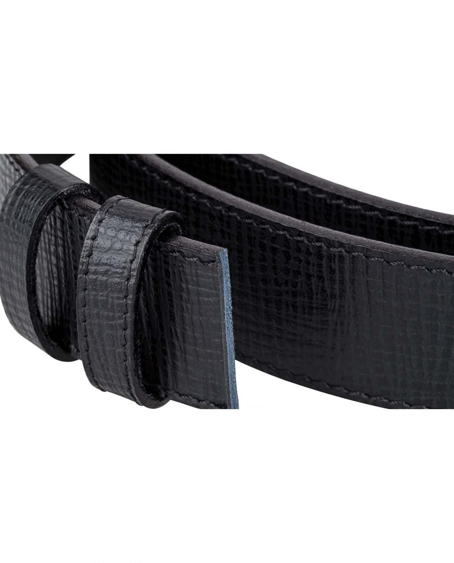 Checkered-Black-Belt-Strap-Buckle-attach