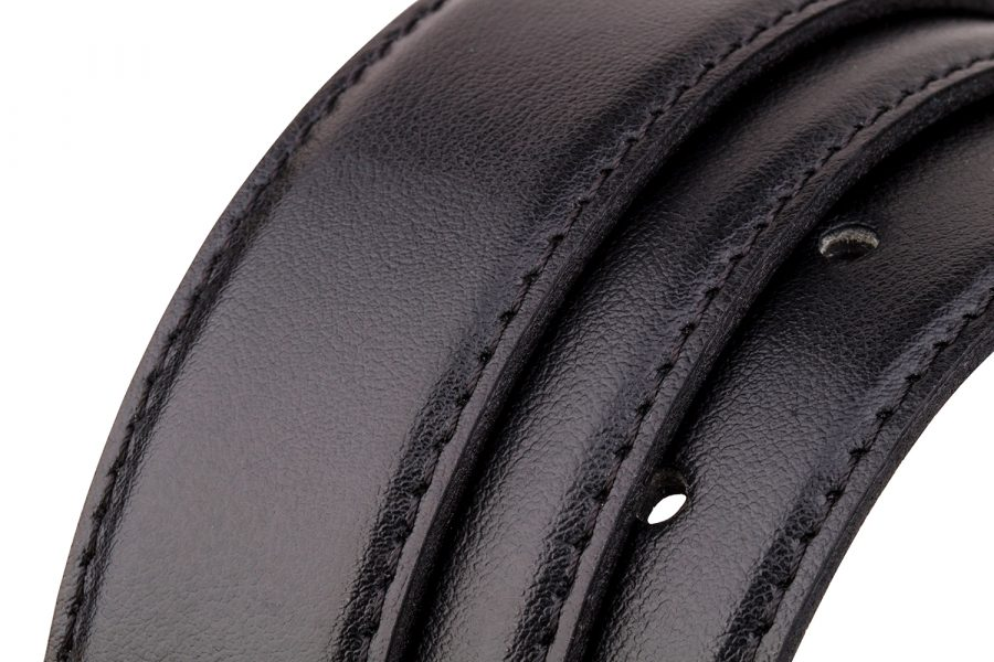 Classic-Mens-Leather-Belt-Rolled-strap