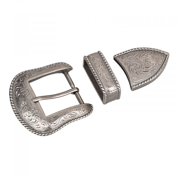 Cowboy-Belt-Buckle-Set-MAin-picture