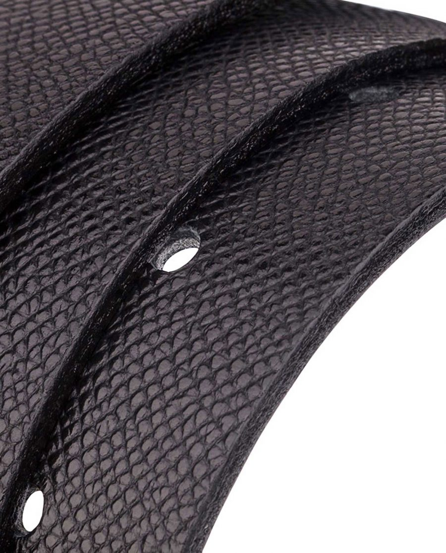 Cowhide-Belt-Black-Reversible-Rolled-strap