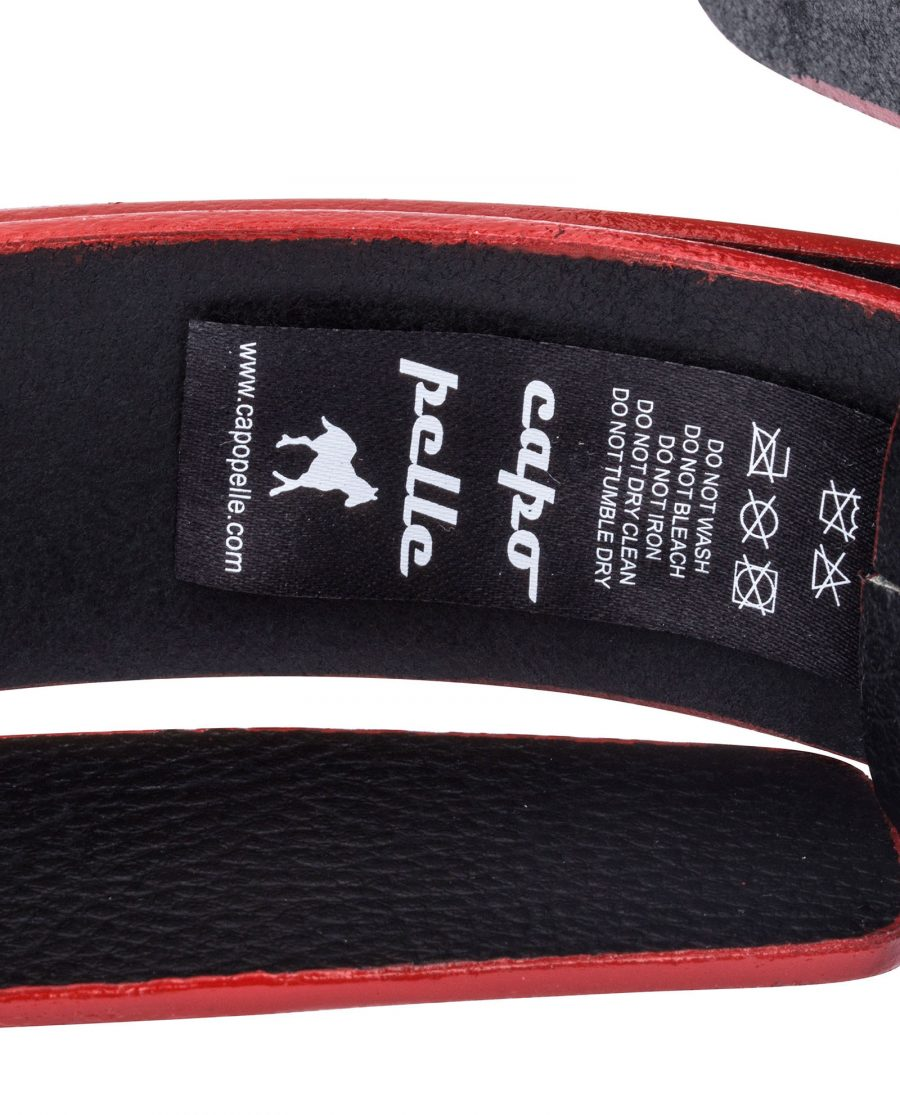 Cowhide-Belt-with-Red-Edges-Care-label