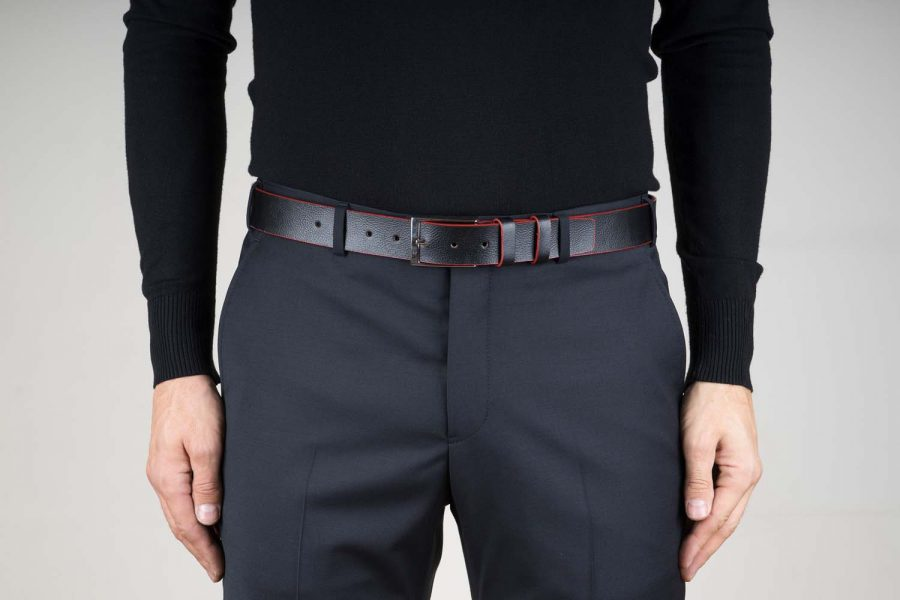Cowhide-Belt-with-Red-Edges-Live-on-Pants