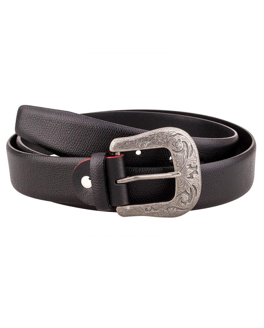 Cowhide-Cowboy-Belt-Main-picture