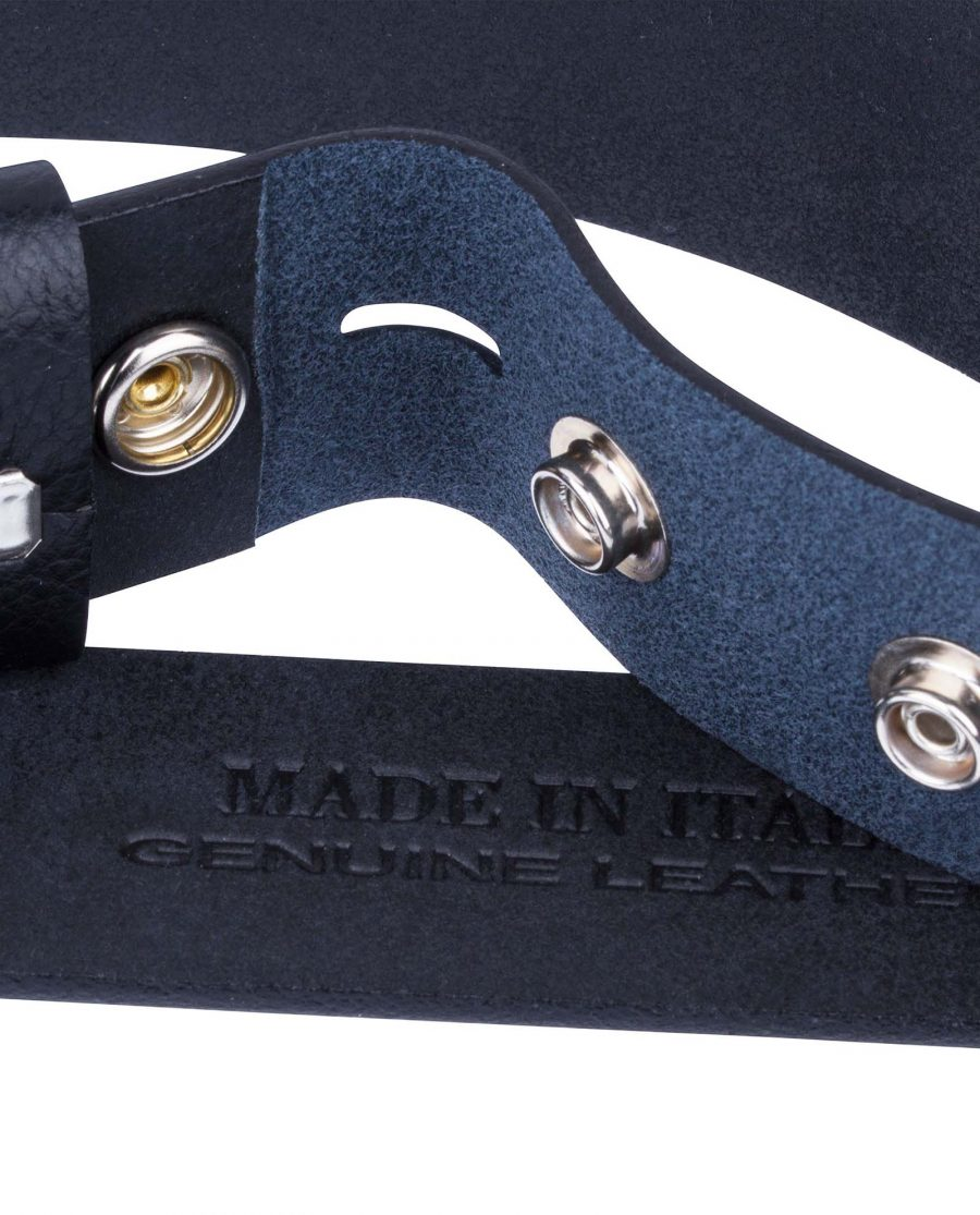 Cowhide-Snap-On-Belt-Strap-Buttons