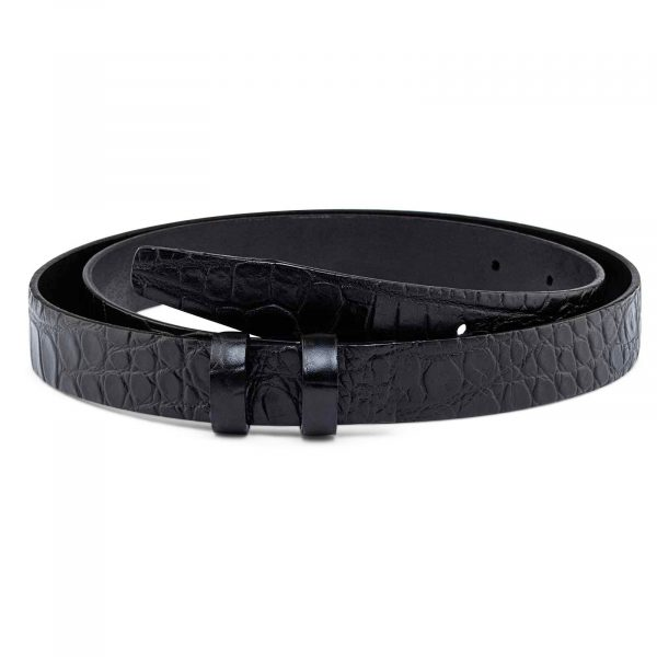 Croco-Embossed-Belt-Strap-25-mm-Main-image