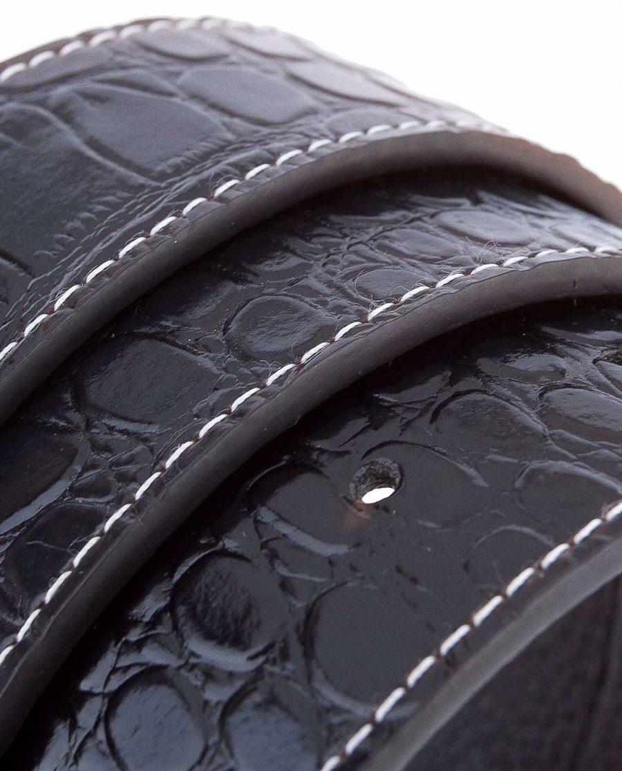 Crocodile-Belt-Strap-Rolled