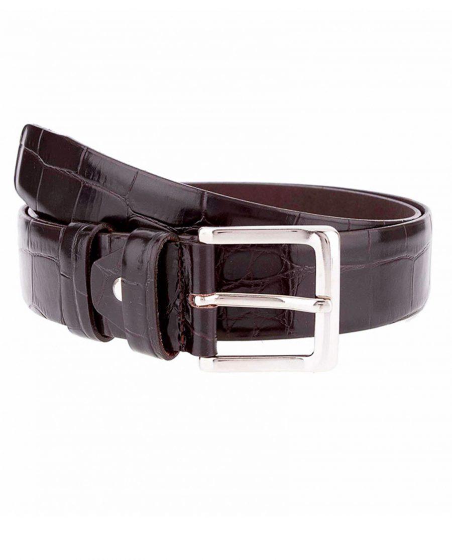 Crocodile-jeans-belt