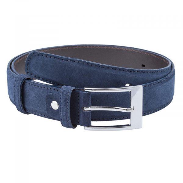 Dark-suede-navy-dress-belt