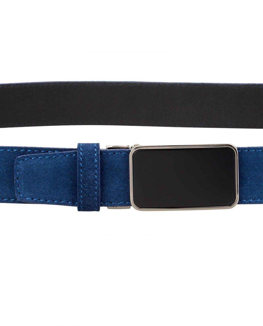 Designer-Blue-Suede-Belt-On-pants