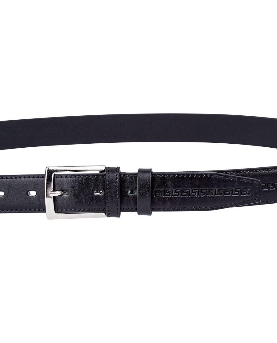 Embossed-Black-Belt-for-Suit-On-pants