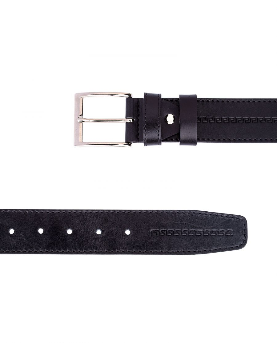 Embossed-Leather-Belt-Wide-From-top