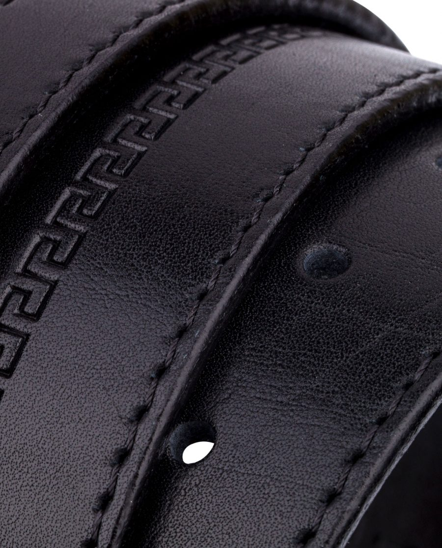Embossed-Leather-Belt-Wide-Rolled